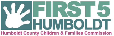 A child's handprint. First 5 Humboldt. Humboldt County Children and Families Foundation.